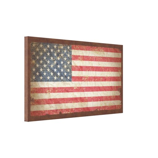 USA Flag Canvas Print