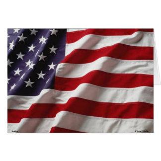 USA Flag -Card- Card