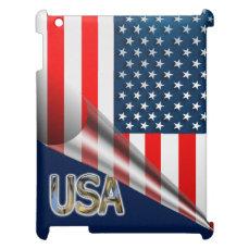 USA Flag Case For The iPad