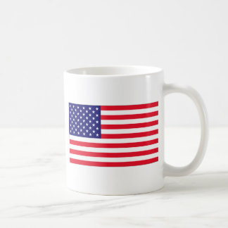 USA FLAG COFFEE MUG