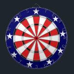 """USA Flag colors Dart Board<br><div class=""""desc"""">USA Flag colors dartboard at Worldgoods</div>"""