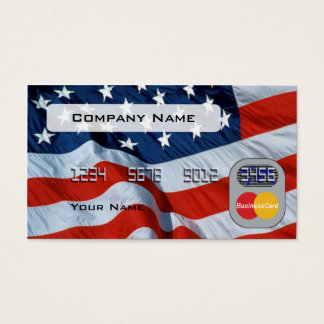 Usa Flag Credit Card