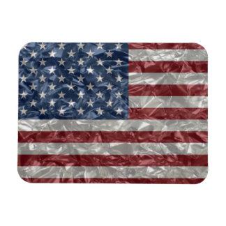 USA Flag - Crinkled Magnet