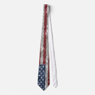 USA Flag - Crinkled Tie