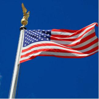 USA flag Cutout