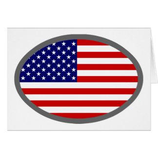 USA Flag Design! Card