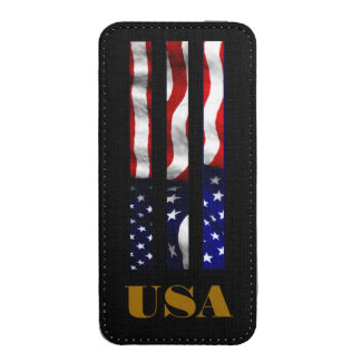 USA FLAG DESIGN iPhone 5 POUCH
