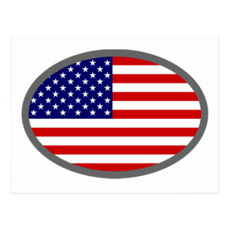 USA Flag Design! Postcard