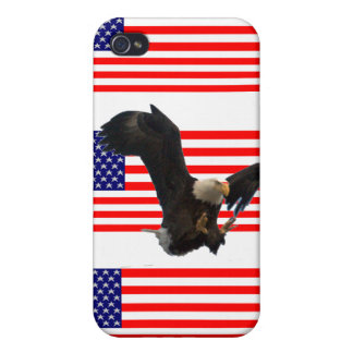 USA FLAG EAGLE CASES FOR iPhone 4