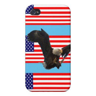 USA FLAG EAGLE iPhone 4/4S COVERS