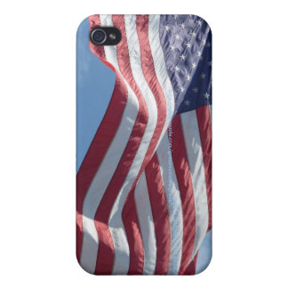 USA Flag Flys High iPhone 4/4S iPhone 4/4S Case