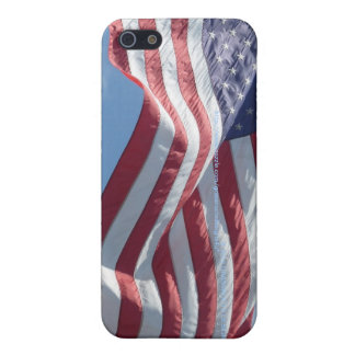 USA Flag Flys High iPhone 4/4S iPhone SE/5/5s Cover