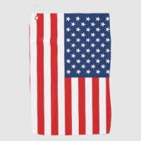 USA Flag Golf Towel