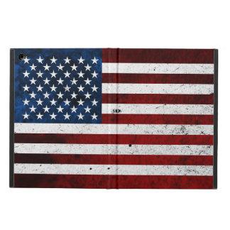 USA FLAG GRUNGE iPad AIR COVER