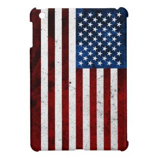 USA FLAG GRUNGE iPad MINI COVER