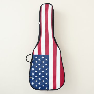 USA Themed USA Flag Guitar Bag
