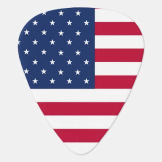 USA Flag Guitar Pick