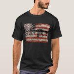 USA Flag & Gun T-Shirt