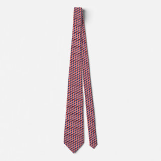 USA Flag Honeycomb Tie