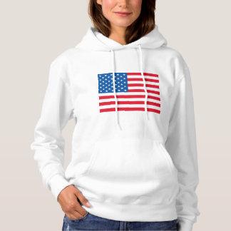 USA Flag Hoodie
