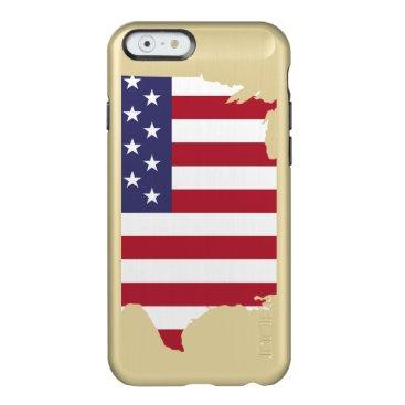 USA flag Incipio Feather Shine iPhone 6 Case
