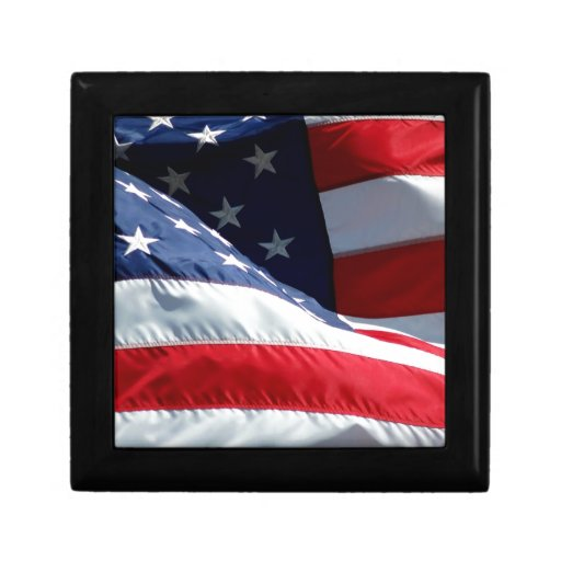 USA Flag Jewelry Boxes
