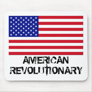 USA-Flag-Large, AMERICAN REVOLUTIONARY Mouse Pad