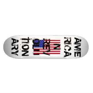 USA-Flag-Large, AMERICAN REVOLUTIONARY Skate Board Deck