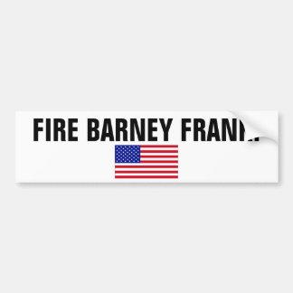 USA-Flag-Large, FIRE BARNEY FRANK! Bumper Sticker