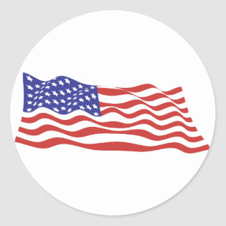 USA Flag Large Sticker Sheets
