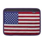USA FLAG LEATHER MacBook AIR SLEEVE
