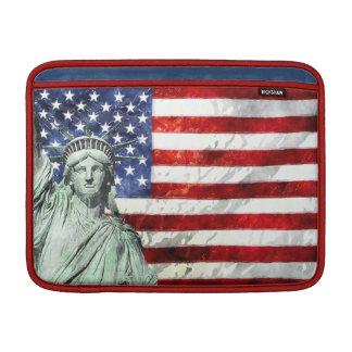USA FLAG & LIBERTY MacBook SLEEVE