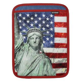 USA FLAG & LIBERTY SLEEVE FOR iPads