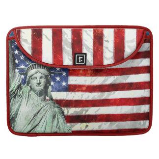 USA FLAG & LIBERTY SLEEVE FOR MacBook PRO