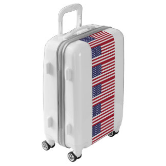 USA Flag Luggage