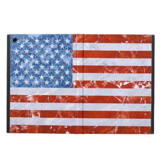 USA FLAG MARBLE iPad AIR COVER