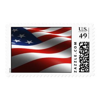 USA Flag Medium Stamps