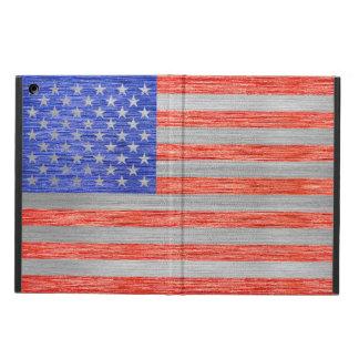USA FLAG METAL 1 iPad AIR CASE