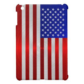 USA FLAG METAL 2 COVER FOR THE iPad MINI