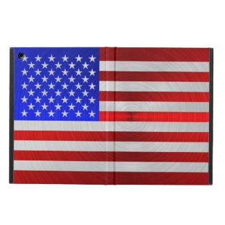 USA FLAG METAL 2 iPad AIR COVER