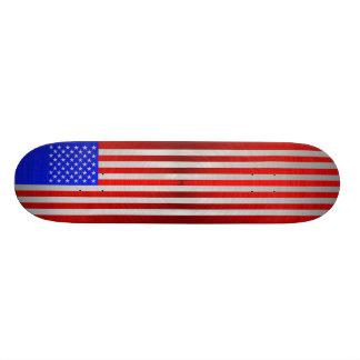 USA FLAG METAL 2 SKATEBOARD