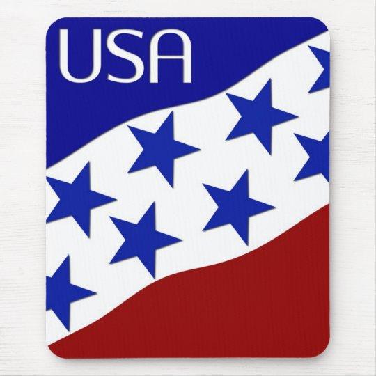 USA Flag Mouse Pad