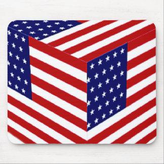 USA Flag_ Mouse Pad
