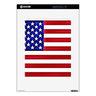 USA Flag Nation Politics Proud America Decals For iPad
