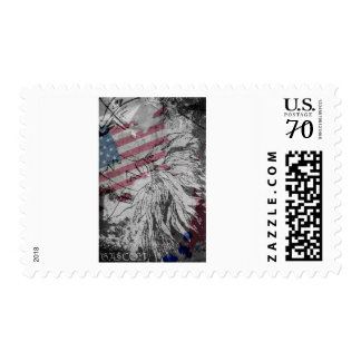 USA Flag Native American Postage Stamps