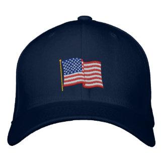 USA Flag NBG Embroidered Baseball Hat