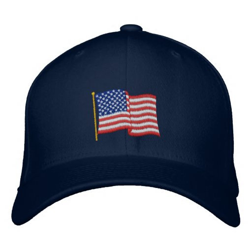 USA Flag NBG Baseball Cap