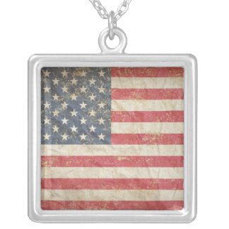 USA Flag Necklaces