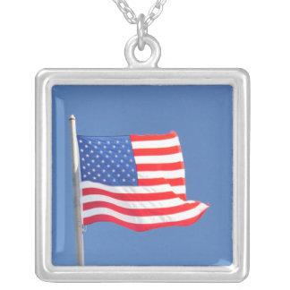 USA FLAG - necklace