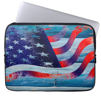 Usa flag Neoprene Laptop Sleeve 13 inch